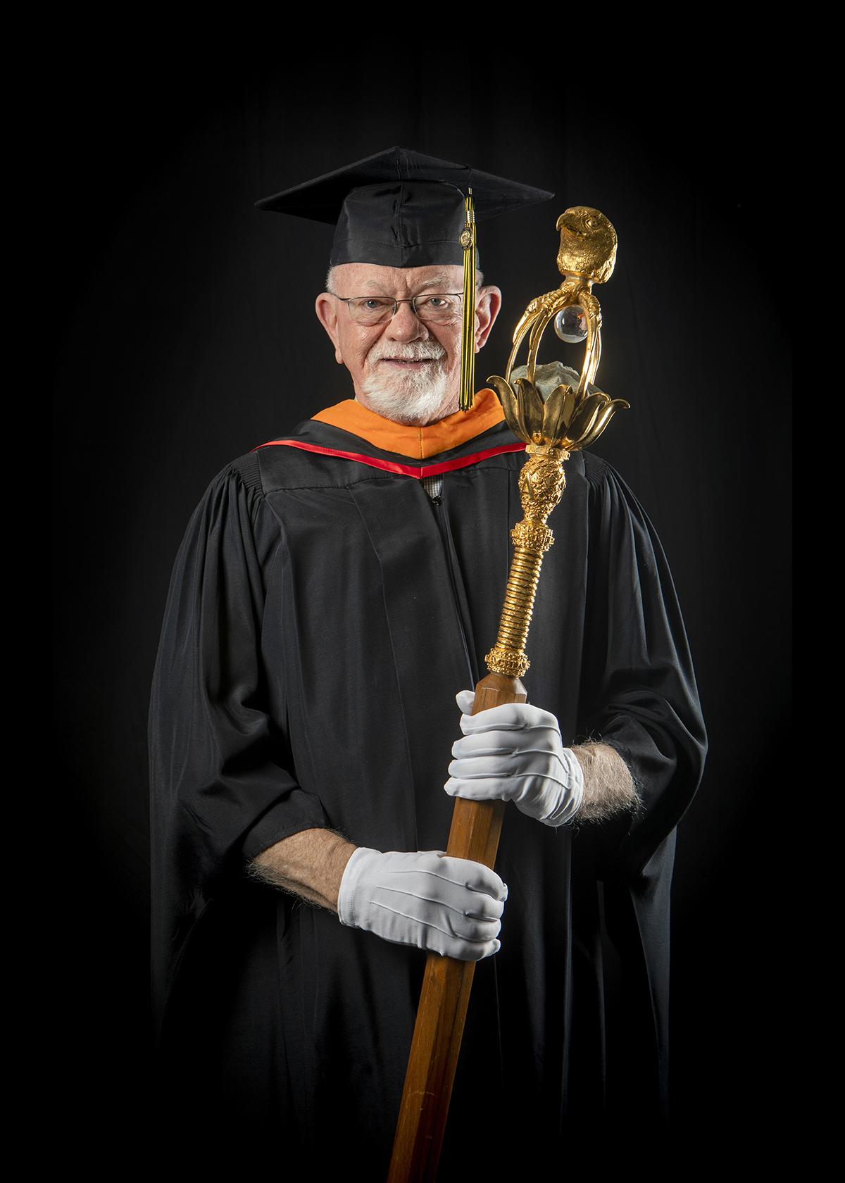 Dr. Rodney Reynerson, Mace Bearer