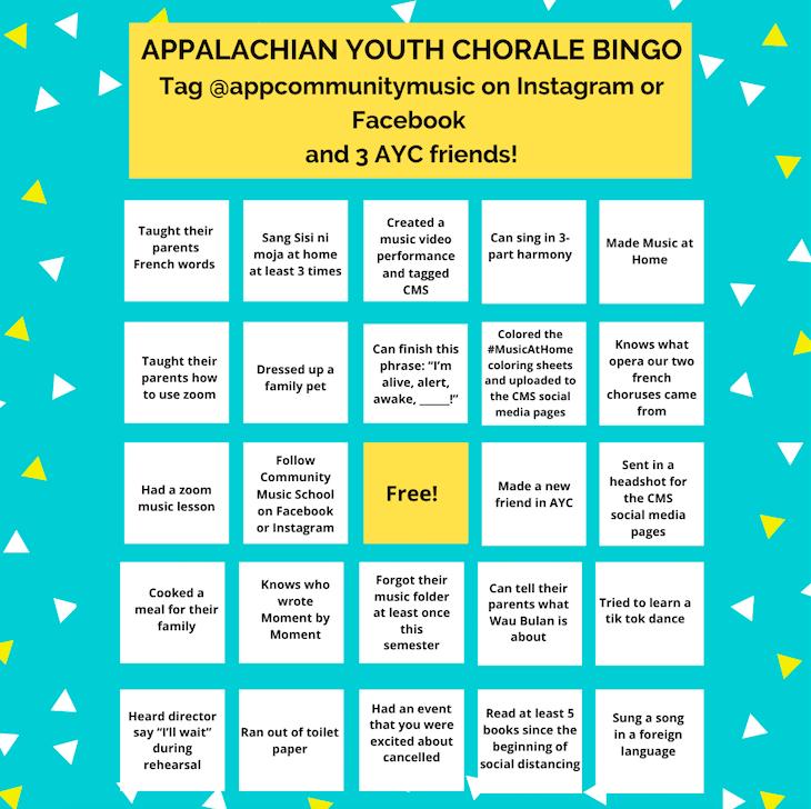 AYC Bingo Image
