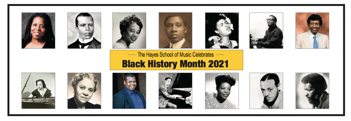 HSoM Celebrates Black History Month 2021, Composers