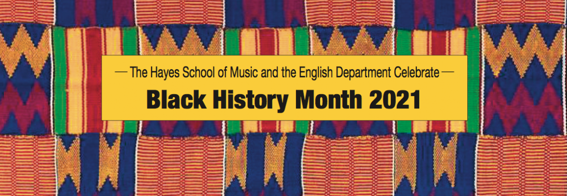 HSoM and the English Department Celebrate Black History Month 2021