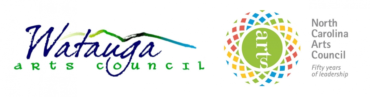 Watauga Arts Council and NC Arts Council Logos