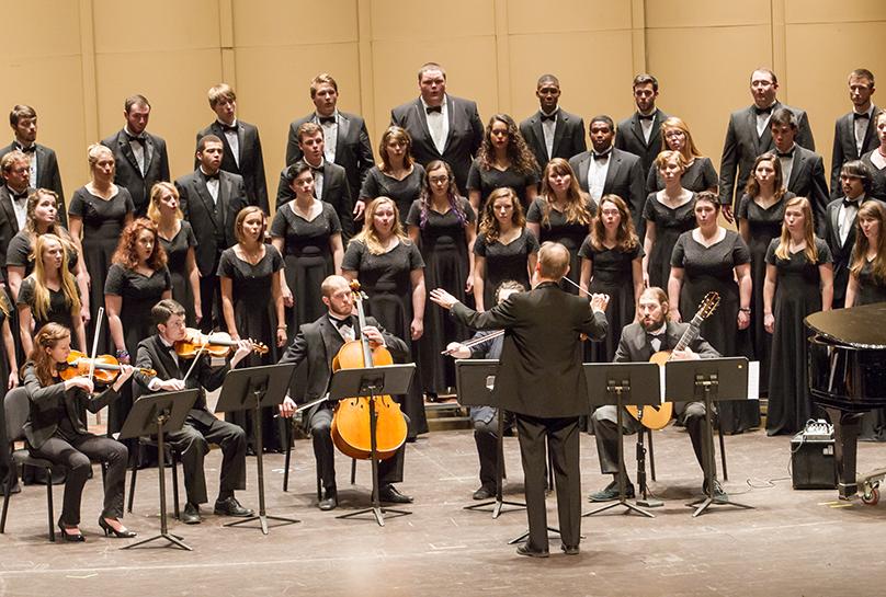 Choral NCMEA at Appalachian State University