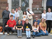 Ireland Program students and faculty