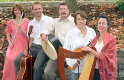 The Hayes School of Music's faculty/student irish Group