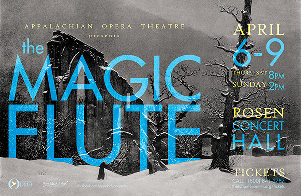 poster for Magic Flute
