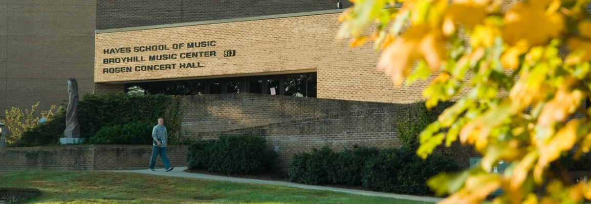 Broyhill Music Center and Rosen Concert Hall at Appalachian State University