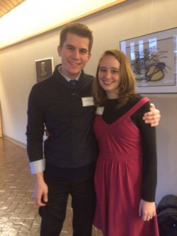 Cody W. and Cara L.  '13 – Double majors in Music Performance and Music Education, now fully employed at North Carolina Schools