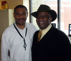 Todd Wright with Bernard Purdie 2010