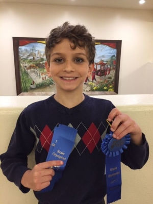 First-year Olympiad pianist Brian Newmark